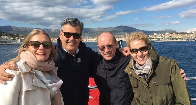 SeaNet hosts their PR teams on a SeaNet yacht - 1