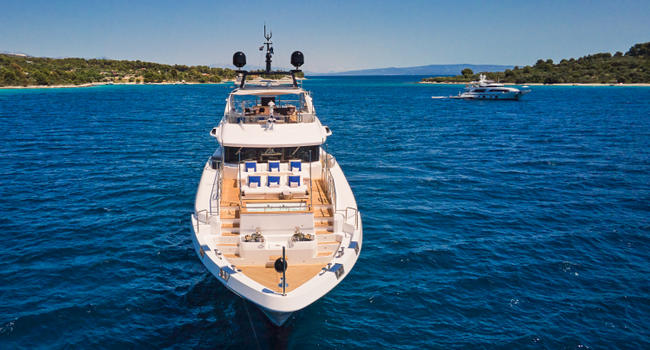 SeaNet sold 22% of the 116' Benetti Mediterraneo UNY