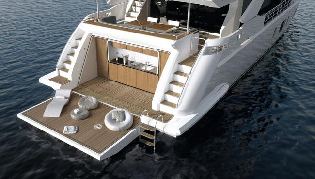 Own this NEW 35 M Azimut Grande for € 12.600.000