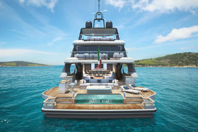 Own this NEW 40 M Benetti Oasis for € 19.400.000