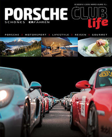 Porsche Club Life Magazine Germany